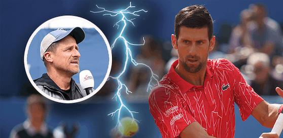 Für Alexander Antonitsch ist Novak Djokovic als Spielervertreter nicht mehr tragbar.