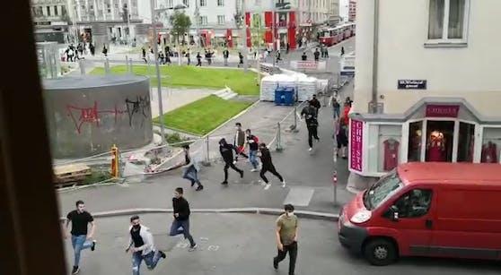 Aufgeheizte und aggressive Stimmung in Wien-Favoriten