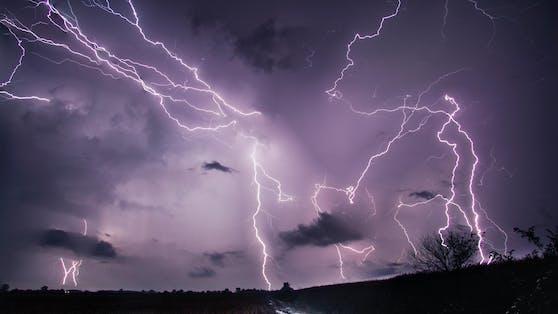 Unwetter-Alarm in Österreich