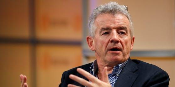 """Ryanair-Chef Michael O'Leary beschwert sich über den Plan """"eines verrückten österreichischen Ministers""""."""