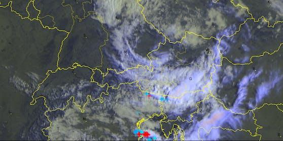 Unwetter-Alarm am Donnerstag in vielen Teilen Österreichs.