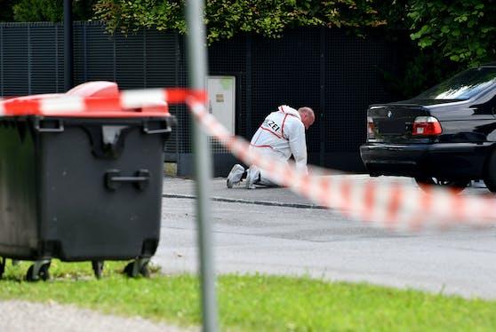 In Salzburg wurden zwei Menschen bei einer Schießerei schwer verletzt.
