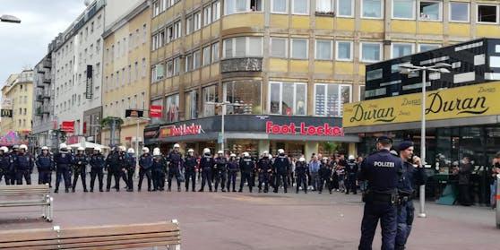 Polizei-Einsatz in Wien-Favoriten