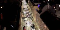 Polizei stürmt Türken-Kurden-Demo in Wien