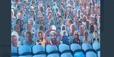 England-Klub hat Ärger mit Osama bin Laden auf Tribüne