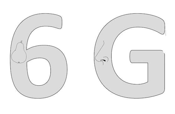 """Einer der Tests zeigte, dass sich dieZahlenblindheit von R.F.S. auch auf Formen direkt auf oder neben den Ziffern überträgt. Obwohl """"6"""" und """"G"""" einander sehr ähneln, konnte R.F.S. zwar eine eingebettete Nase, nicht aber die Zahl mit der Birne erkennen."""
