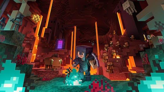 Das Nether-Update für Minecraft ist da.