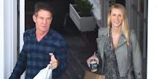 """Dennis Quaid (66) und Laura (27) haben """"Ja"""" gesagt"""