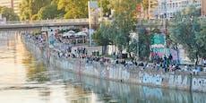 "Polizei geht am Donaukanal jetzt auf ""Party-Streife"""