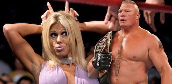 Terri Runnels wirft Brock Lesnar sexuelle Belästigung vor.