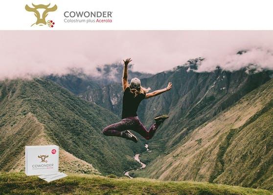 """""""Studien haben gezeigt, dass Colostrum die Regeneration des Körpers unterstützen kann – deshalb ist COWONDER   Colostrum plus Acerola® gerade bei Leistungssportlern sehr beliebt"""", erklärt der GF und Biomechaniker Sascha Bauer."""