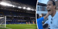 Meister! Liverpool-Kicker rasten nach Chelsea-Elfer aus