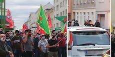 Mitten in Wien: Bei Kurden-Demo fielen sogar Schüsse