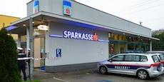 Pärchen überfällt Bank in Linz und droht mit Bombe