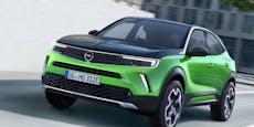 Der neue Opel Mokka kommt auch mit E-Antrieb