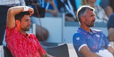 Auch Djokovic-Trainer mit Coronavirus infiziert