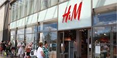 H&M schließt wegen roter Zahlen 250 Filialen