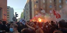 """Krawall befürchtet! Demo der """"Radikalen Linken"""" in Wien"""