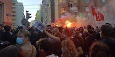 Gewalt bei Demos – Was ist nur in Favoriten los?