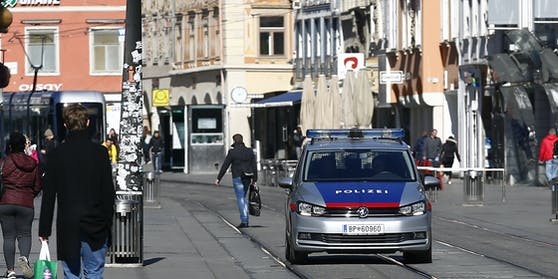 Kurioser Polizeieinsatz am Donnerstagnachmittag in Graz. (Symbolfoto)