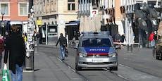 Ladendiebin (45) sieht rot und schlägt Polizist nieder