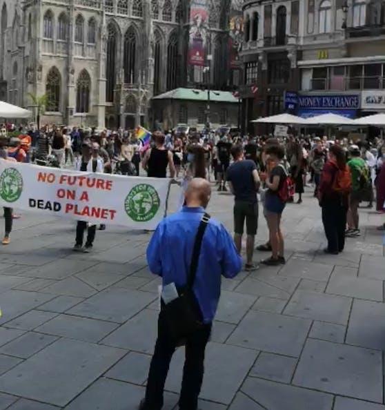 Die Demos rund um den Klimaschutz haben wieder gestartet.