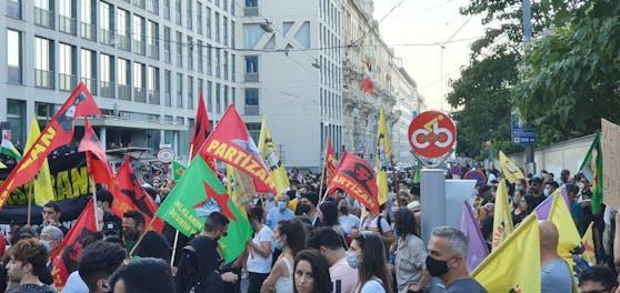 Zu Ausschreitungen wie bei der Kurden-Demo in Wien soll es nicht mehr kommen.