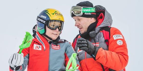 Tamara Tippler und Ex-ÖSV-Coach Roland Assinger
