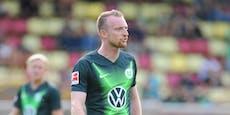 """Wolfsburg-Frust: """"Heute saufe ich richtig einen rein"""""""