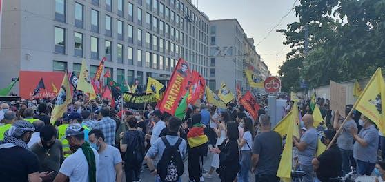 Kurden-Demo Wien 27.06.2020