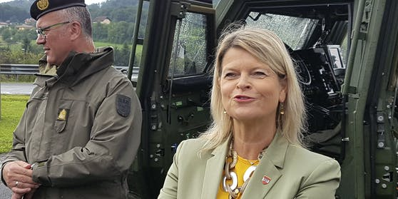 ÖVP-Verteidigungsministerin Klaudia Tanner