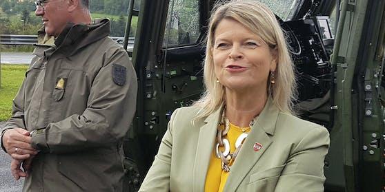 Heeresministerin Klaudia Tanner