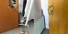 Einbrecher wütete im Feuerwehrhaus Zwölfaxing
