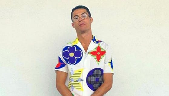 Cristiano Ronaldo präsentiert seinen neuen Style