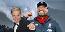 Surfer aus Österreich hat Anteil am Liverpool-Erfolg