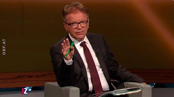 """Rudolf Anschober zu Gast """"Im Zentrum"""" am 28. Juni 2020"""