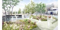 """Baustart für """"Schwimmende Gärten"""" am Donaukanal"""
