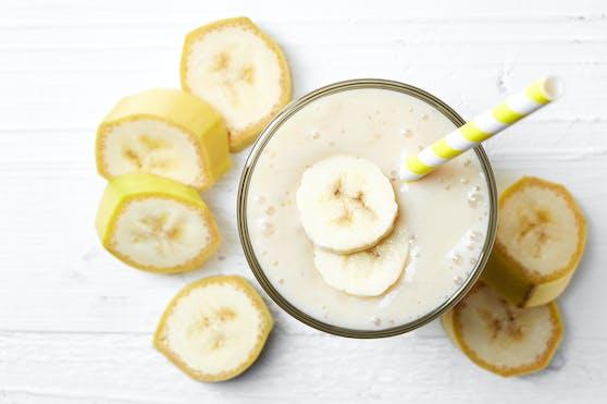 Nicht ohne Grund liegt Bananenmilch im Trend.