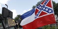 Mississippi trennt sich von umstrittener Flagge
