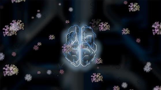 Inwiefern beeinflusst eine Coronavirus-Infektion das Gehirn?