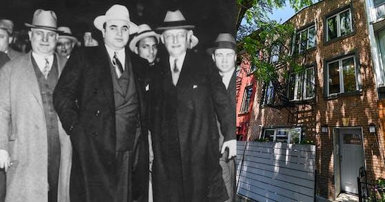 In diesem Haus in Chicago wuchs der berühmt-berüchtigte Gangster-Boss Al Capone auf.