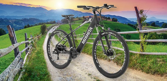 Mit etwas Glück kann das fantastische MISHITA E-Bike MTB 20S mit vollintegriertem Akku dir gehören!