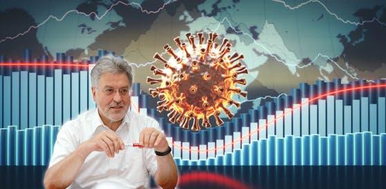 Rot-Kreuz-Chef Walter Aichinger sagt, der Anstieg liegt an den Lockerungen wie z.B. dem Ende der Maskenpflicht.