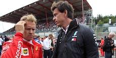 So stehen Vettels Chancen auf ein Mercedes-Cockpit
