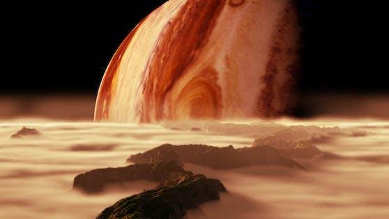 Forscher fanden neue Hinweise, dass es auf dem Jupitermond Europa tatsächlich außerirdisches Leben geben könnte.