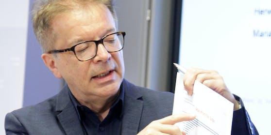 Gesundheitsminister Rudi Anschober (Grüne)