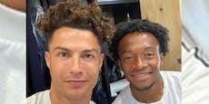 Ronaldo mit Locken: So haben wir ihn noch nie gesehen