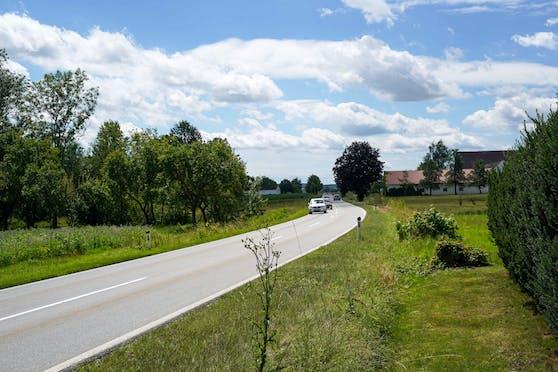Auf dieser Straße raste der Mann mit 223 km/h.
