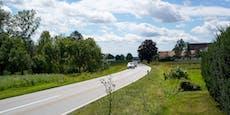 467-PS-Mercedes raste mit 223 km/h durch Ortschaft