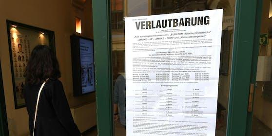 Fünf Volksbegehren konnten die Österreicher bis Montag unterschreiben.